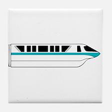 Monorail Teal Tile Coaster