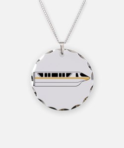 Monorail Peach Necklace