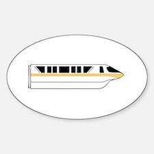 Monorail Peach Decal