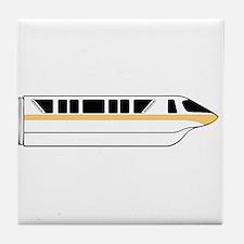 Monorail Peach Tile Coaster
