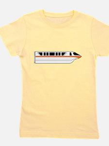 Monorail Orange Girl's Tee