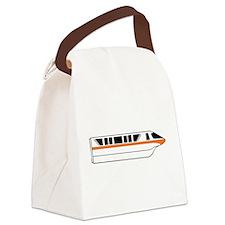 Monorail Orange Canvas Lunch Bag