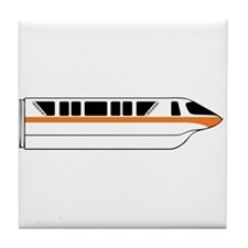 Monorail Orange Tile Coaster