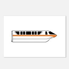Monorail Orange Postcards (Package of 8)