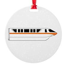 Monorail Orange Ornament