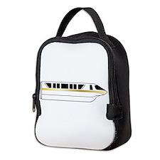 Monorail Gold Neoprene Lunch Bag
