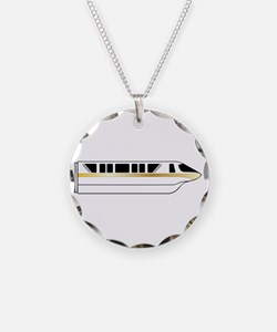 Monorail Gold Necklace