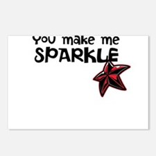 Sparkle Me Postcards (Package of 8)