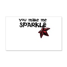 Sparkle Me Wall Decal