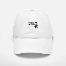 Sparkle Me Baseball Baseball Baseball Cap