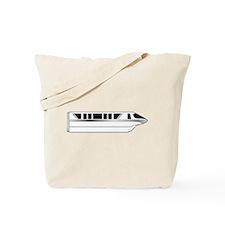 Monorail Silver Tote Bag