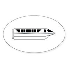 Monorail Silver Decal