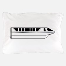 Monorail Silver Pillow Case