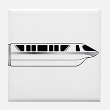 Monorail Silver Tile Coaster