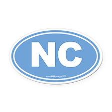 Cute Winston salem north carolina Oval Car Magnet