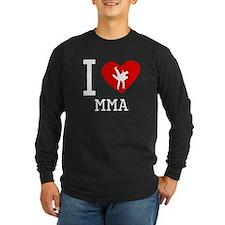 I Heart MMA Long Sleeve T-Shirt