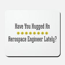Hugged Aerospace Engineer Mousepad
