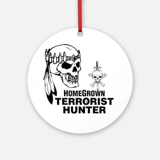 Terrorist Hunter Ornament (Round)