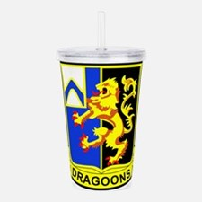 US ARMY 48th INFANTRY Acrylic Double-wall Tumbler