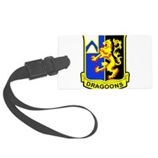 US ARMY 48th INFANTRY REGIMENT P Luggage Tag