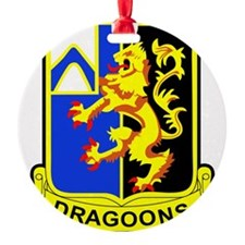 US ARMY 48th INFANTRY REGIMENT PATC Ornament