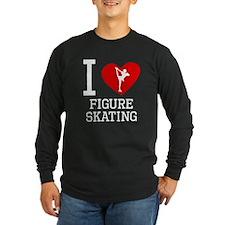I Heart Figure Skating Long Sleeve T-Shirt