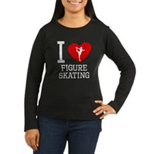 I Heart Figure Skating Long Sleeve T-Shirt