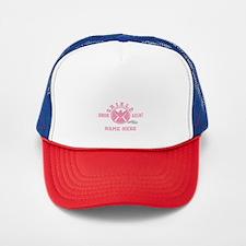 Pink Personalized Junior SHIELD Agent Trucker Hat