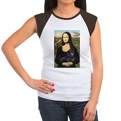 Mona's Dachshund Women's Cap Sleeve T-Shirt