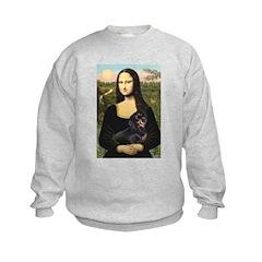Mona Lisa/Dachshund (BT4) Sweatshirt