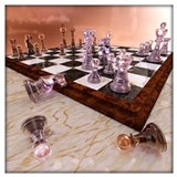Chess Wrapped Canvas Art