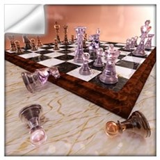 A Game Of Chess Wall Art Wall Decal