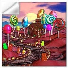 Candyland Wall Art Wall Decal