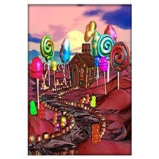 Candyland Wall Art