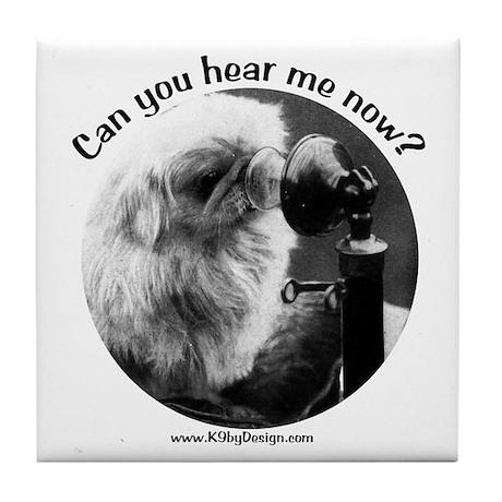 Can you hear me now? Tile Coaster