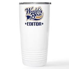 Cute Copy editor Travel Mug