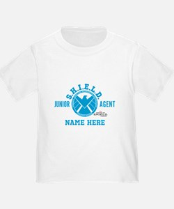 Blue Personalized Junior SHIELD Ag T
