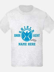 Blue Personalized Junior SHIELD T-Shirt