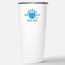 Blue Personalized Junio Stainless Steel Travel Mug