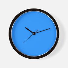 Sky Blue Serenity Wall Clock