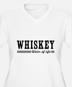 WHISKEY water of life Plus Size T-Shirt