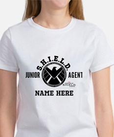 Personalized Junior SHIELD Agent Tee