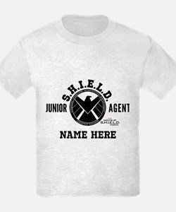 Personalized Junior SHIELD Agen T-Shirt