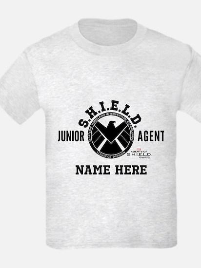 Personalized Junior SHIELD Agen T-Shirt