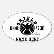 Personalized Junior SHIELD Agent Decal