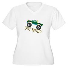 Got Mud? Plus Size T-Shirt
