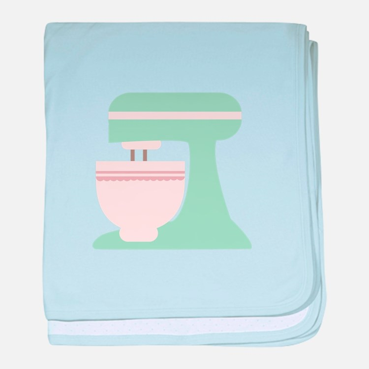 Kitchenaid Mixer baby blanket