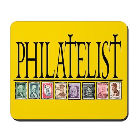 PHILATELIST Mousepad