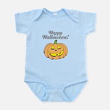 Jack o lantern pumpkin face carving Body Suit