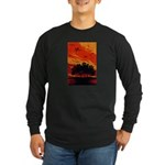 Sunset Long Sleeve Dark T-Shirt
